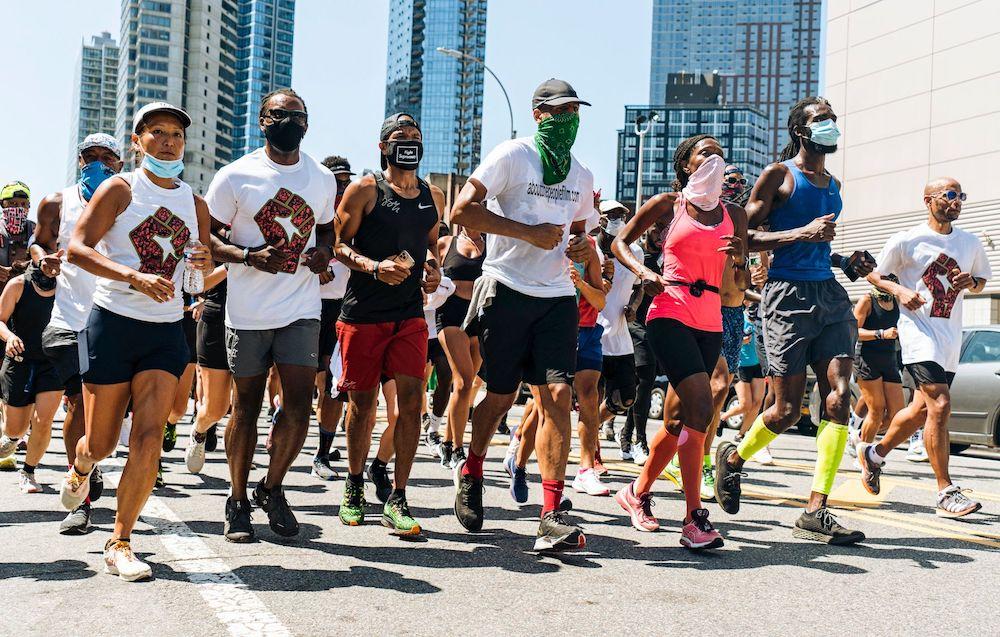 Coffey leading organized run