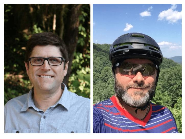 Headshots of Matt Godfrey and Andy Williamson